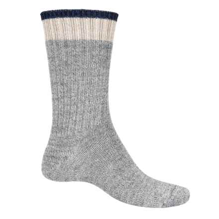 Goodhew Durango Socks - Merino Wool, Crew (For Men) in Grey - 2nds