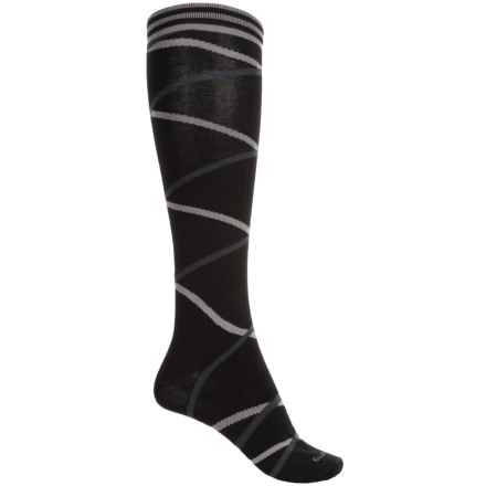 Goodhew Enwraptured Socks - Merino Wool, Over the Calf (For Women) in Black - Closeouts