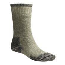 Goodhew Expedition Socks - Merino Woo, Mid Calf (For Men and Women) in Loden - Closeouts