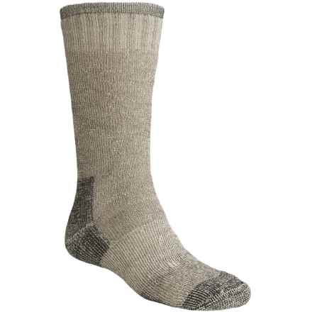 Goodhew Expedition Socks - Merino Wool, Mid Calf (For Men and Women) in Black - Closeouts