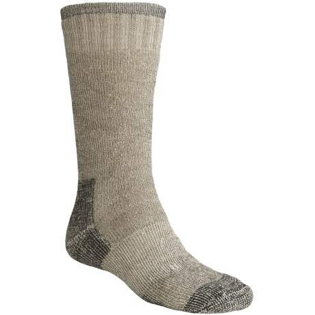 Goodhew Expedition Socks - Merino Wool, Mid Calf (For Men and Women) in Black