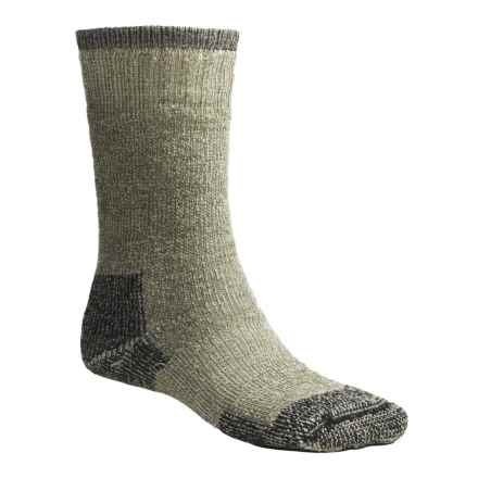 Goodhew Expedition Socks - Merino Wool, Mid Calf (For Men and Women) in Loden - Closeouts