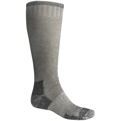 Goodhew Expedition Socks - Merino Wool, Over the Calf (For Men and Women) in Black