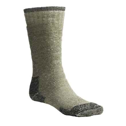 Goodhew Expedition Socks - Merino Wool, Over the Calf (For Men and Women) in Loden - Closeouts