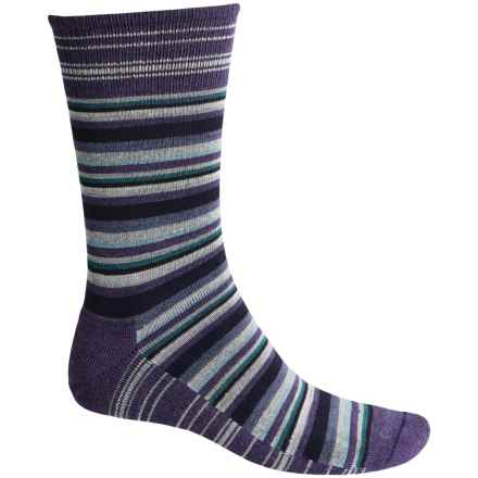Goodhew Fiesta Stripe Socks - Merino Wool, Crew (For Men) in Concorde - Closeouts