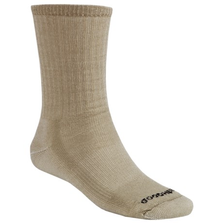 Goodhew Hiking Socks - Merino Wool, Crew (For Men and Women) in Khaki