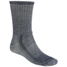Goodhew Hiking Socks - Merino Wool, Crew (For Men and Women) in Navy - 2nds