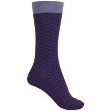 Goodhew Honeycomb Socks - Merino Wool, Crew (For Women) in Concorde - Closeouts