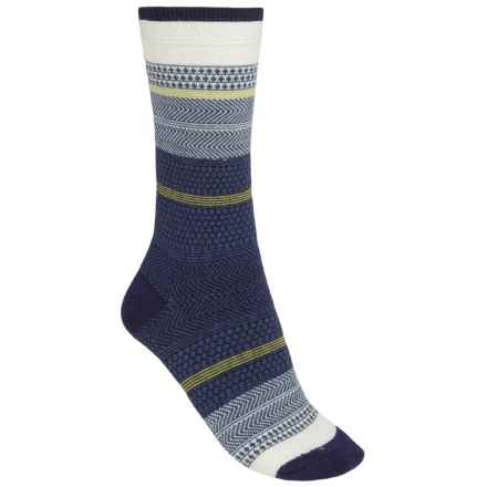 Goodhew Jasmin Socks - Merino Wool, Crew (For Women) in Navy - Closeouts
