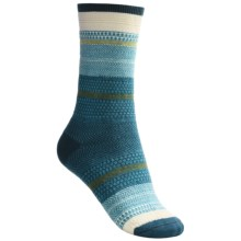 Goodhew Jasmin Socks - Merino Wool, Crew (For Women) in Turquoise - Closeouts