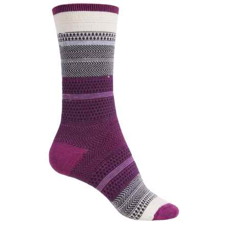 Goodhew Jasmin Socks - Merino Wool, Crew (For Women) in Violet - Closeouts