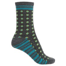 Goodhew Kimono Socks - Merino Wool, Crew (For Women) in Charcoal - Closeouts