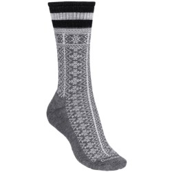 Goodhew Lumber Jane Socks - Merino Wool, Crew (For Women) in Grey