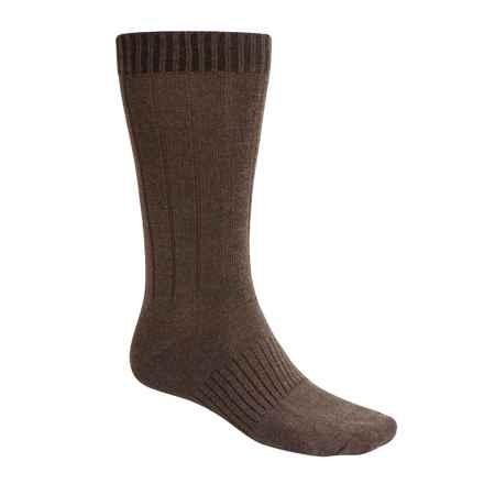 Goodhew Milan Socks - Merino Wool (For Men) in Brown - 2nds