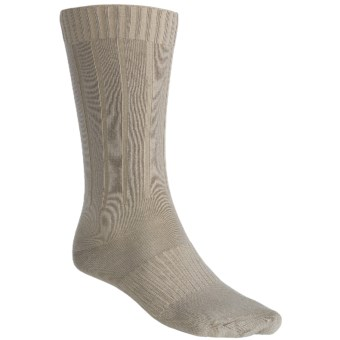 Goodhew Milan Socks - Merino Wool (For Men) in Khaki