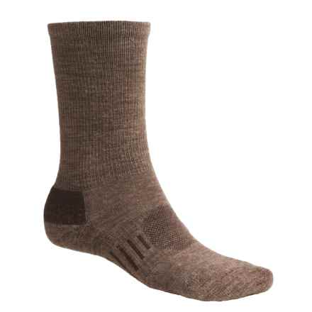 Goodhew Montrose Socks - Merino Wool, Crew (For Men) in Bark - 2nds