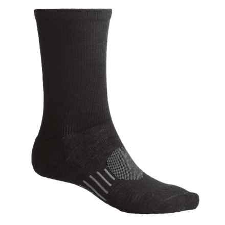 Goodhew Montrose Socks - Merino Wool, Crew (For Men) in Black - 2nds