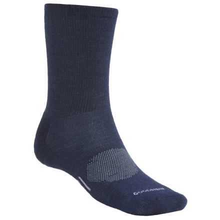 Goodhew Montrose Socks - Merino Wool (For Men) in Navy - 2nds