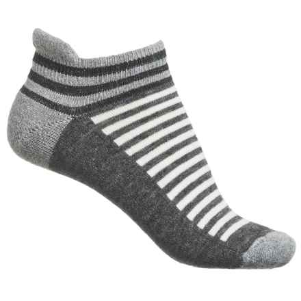 Goodhew Navigator Striped Socks - Ankle, Merino Wool (For Women) in Grey - Closeouts