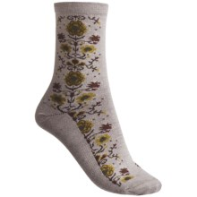 Goodhew Needlepoint Socks - Merino Wool (For Women) in Fawn - Closeouts