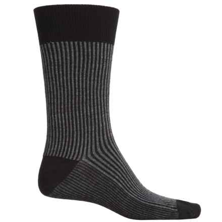 Goodhew Pinwhale Socks - Merino Wool, Crew (For Men) in Black - Closeouts