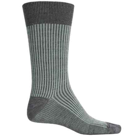 Goodhew Pinwhale Socks - Merino Wool, Crew (For Men) in Charcoal - Closeouts