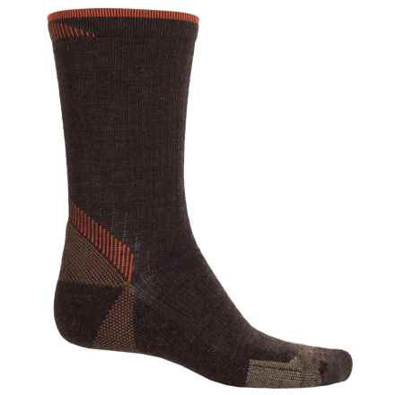 Goodhew Quest Hiker Socks - Lambswool-Alpaca, Crew (For Men) in Espresso - Closeouts