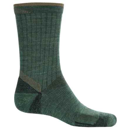 Goodhew Quest Hiker Socks - Lambswool-Alpaca, Crew (For Men) in Woodland - Closeouts