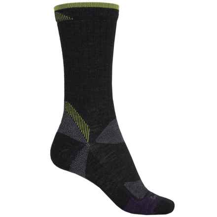 Goodhew Quest Hiker Socks - Lambswool-Alpaca, Crew (For Women) in Black - Closeouts