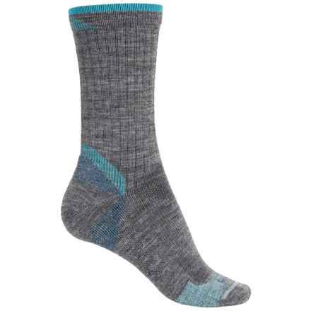 Goodhew Quest Hiker Socks - Lambswool-Alpaca, Crew (For Women) in Grey - Closeouts