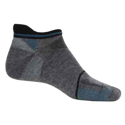 Goodhew Quest Micro Hiking Socks - Lambswool-Alpaca, Below the Ankle (For Men) in Grey - Closeouts