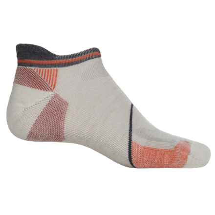 Goodhew Quest Micro Hiking Socks - Lambswool-Alpaca, Below the Ankle (For Men) in Natural - Closeouts