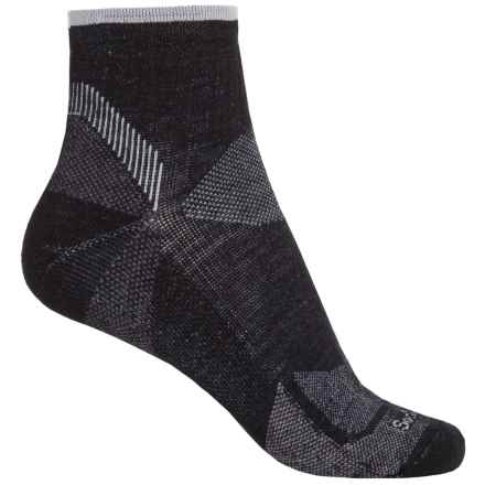 Goodhew Quest Quarter Hiking Socks - Lambswool-Alpaca, Quarter Crew (For Women) in Black - Closeouts