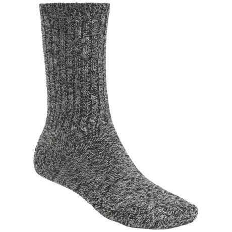 Goodhew Santa Cruz Socks - Merino Wool, Midweight (For Men) in Black