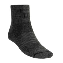 Goodhew Santa Fe Socks - Merino Wool, Quarter-Crew (For Men) in Charcoal - 2nds