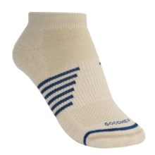 Goodhew Sedona Micro Socks - Lambswool-Alpaca (For Women) in Natural - 2nds