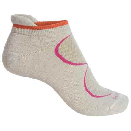 Goodhew Sedona Micro-Tab Socks - Lambswool-Alpaca Blend, Below the Ankle (For Women) in Natural - Closeouts