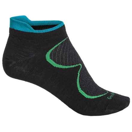 Goodhew Sedona Ultralight Athletic Socks - Lambswool-Alpaca Blend, Below the Ankle (For Women) in Black - Closeouts