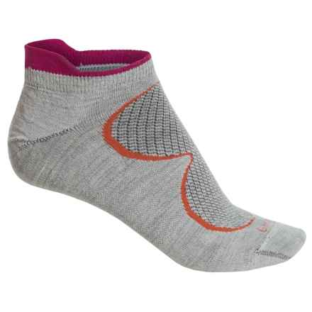 Goodhew Sedona Ultralight Athletic Socks - Lambswool-Alpaca Blend, Below the Ankle (For Women) in Oyster - Closeouts