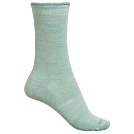 Goodhew Skinny Minnie Socks - Merino Wool, Crew (For Women) in Celadon - Closeouts