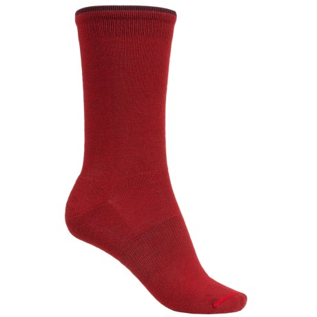 Goodhew Skinny Minnie Socks - Merino Wool (For Women) in Ruby