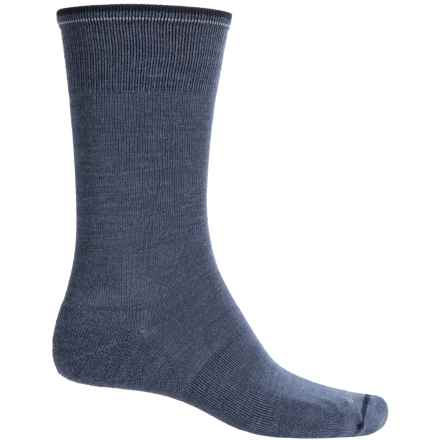 Goodhew Slim Jim Socks - Merino Wool, Crew (For Men) in Denim - Closeouts