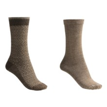 Goodhew Socks - 2-Pack (For Women) in Bark/Bark/Khaki - 2nds