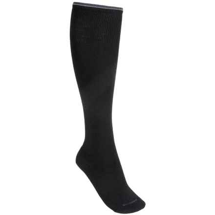 Goodhew Straight Up Socks - Over the Calf (For Women) in Black - Closeouts