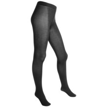 Goodhew Stretch Tights - Rayon-Nylon (For Women) in Black - Closeouts