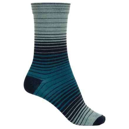 Goodhew Sunset Socks - Merino Wool, Crew (For Women) in Navy - Closeouts