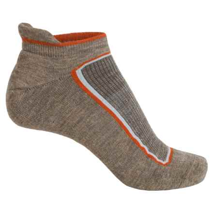 Goodhew Taos Micro-Tab Socks - Lambswool-Alpaca Blend, Below the Ankle (For Men) in Khaki - Closeouts