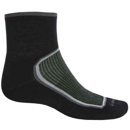 Goodhew Taos Socks - Lambswool-Alpaca Blend, Quarter Crew (For Men) in Black - Closeouts