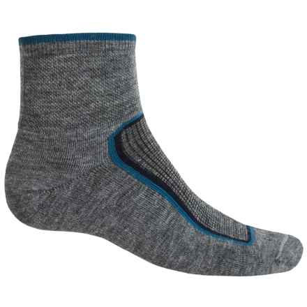 Goodhew Taos Socks - Lambswool-Alpaca Blend, Quarter Crew (For Men) in Grey - Closeouts