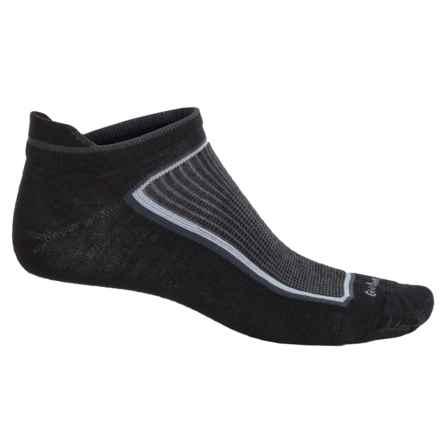 Goodhew Taos Ultralight Athletic Socks - Lambswool-Alpaca Blend, Below the Ankle (For Men) in Black - Closeouts